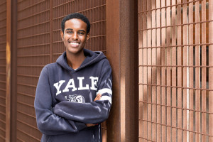 Abdisalan Guleid, member of the Bite Back Youth Board